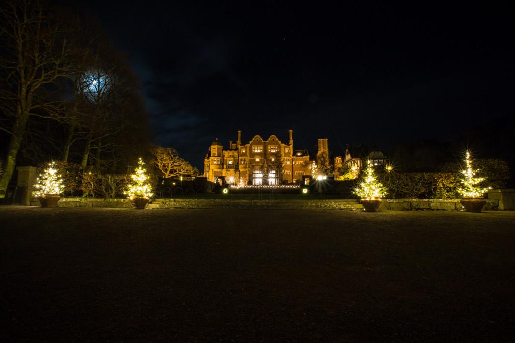 Slottet i månsken Tjolöholms julmarknad foto Will Rose