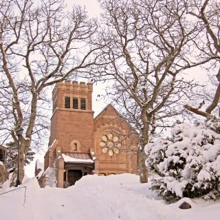 vinterbild kyrkan rev